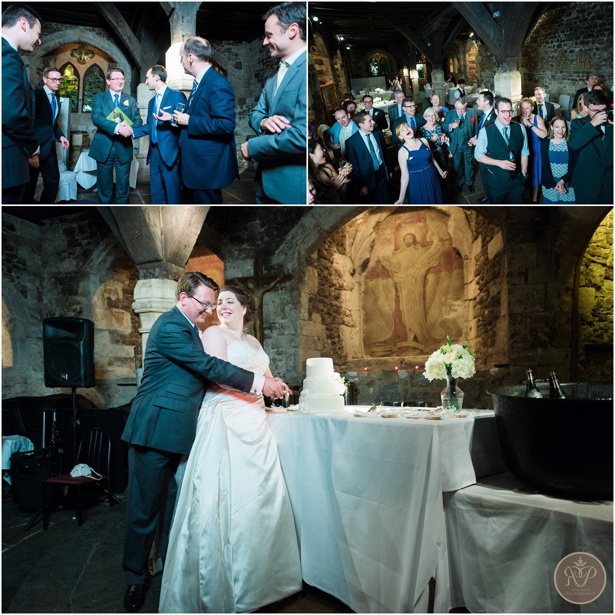 Crypt of St Etheldreda wedding photography