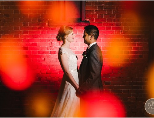 A winter wedding at Gaynes Park